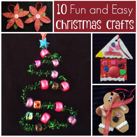 10 fun and easy Christmas Crafts