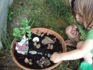 make a fairy garden!