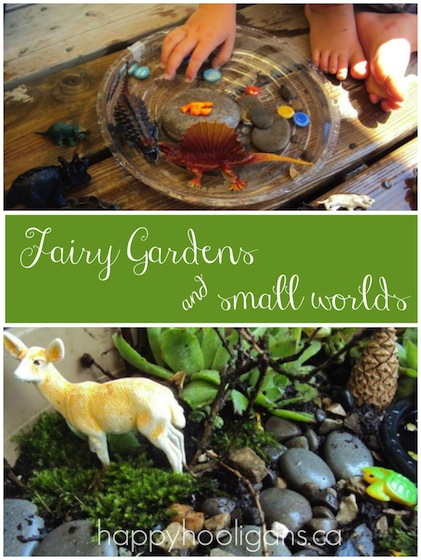 Fairy Gardens and Small Worlds - Happy Hooligans