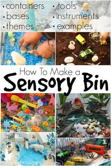 How to Make a Sensory Bin for Sensory Play and Exploration