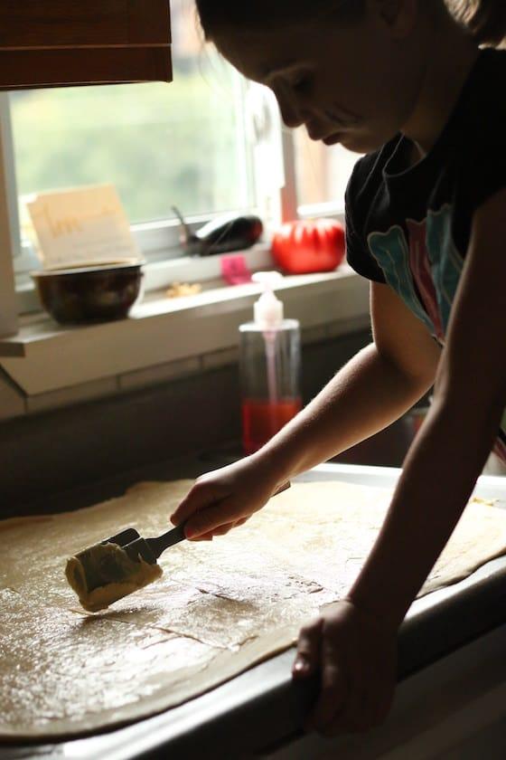 cinnamon roll dough in bread machine