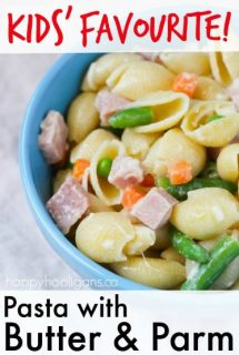 Pasta with Butter and Parm – Favourite Daycare Lunch for Kids
