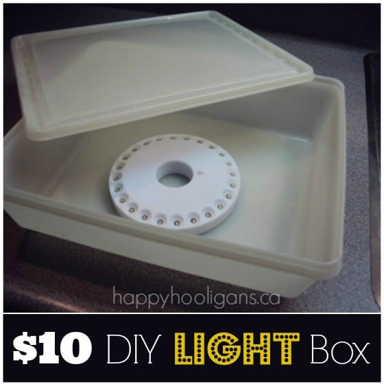 DIY Light Box - Happy Hooligans
