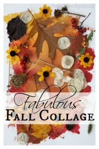 Fabulous Fall Collage for Toddlers and Preschoolers