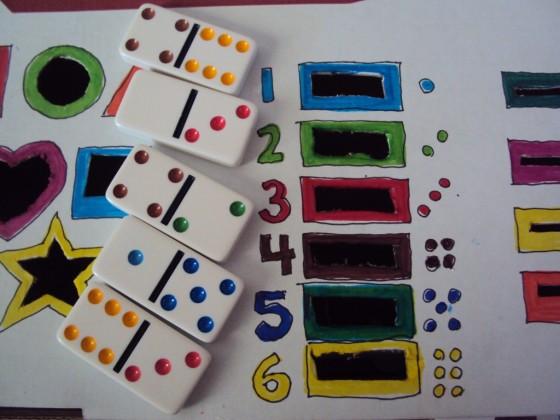 dominoes for dropbox activity