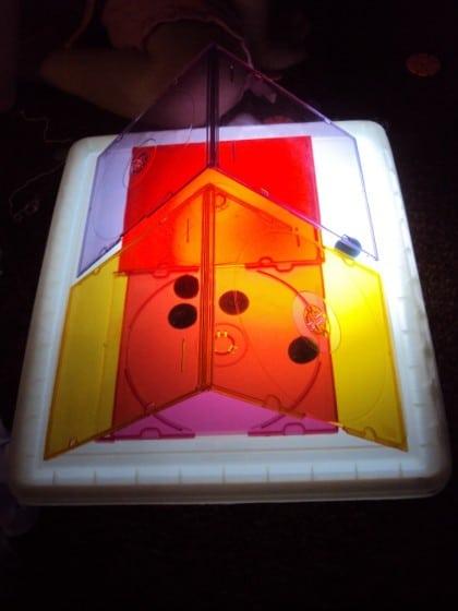 DIY light box play ideas - common household items for light box play