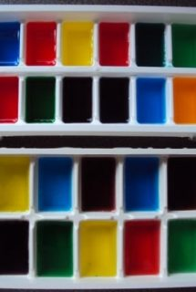 Play With Coloured Ice Cubes