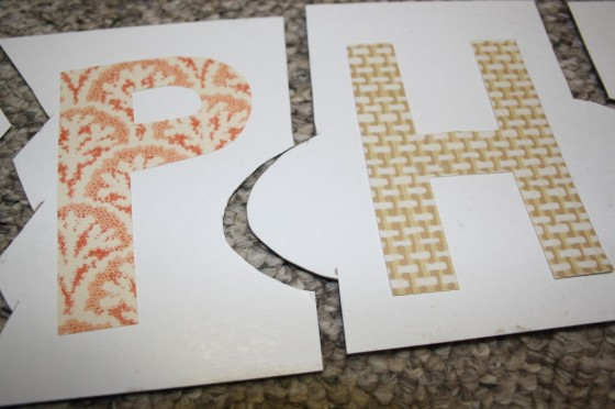 easy homemade name puzzle