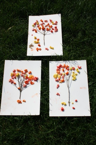 3 popcorn trees
