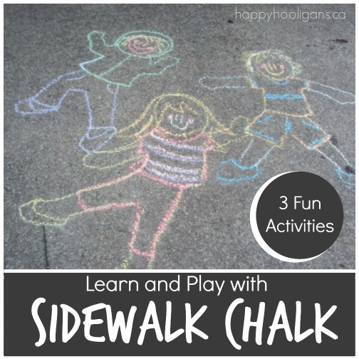 3 fun sidewalk chalk activities for preschoolers