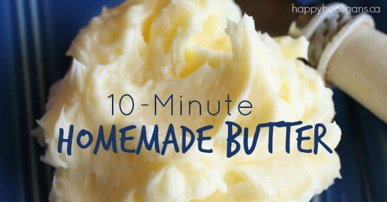 how to make butter in 3 easy steps