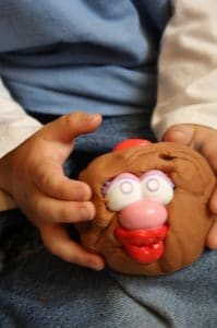 potato-head play-dough