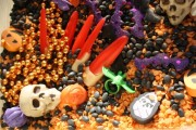 Spooky Sensory Bin - happy hooligans