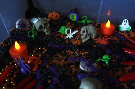 Halloween Sensory Play Bin