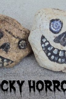 Halloween Rocks Kids Can Paint
