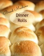 These are the Best Bread Machine Dinner Rolls Ever