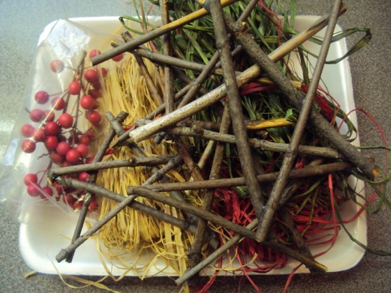 supplies for twig ornaments