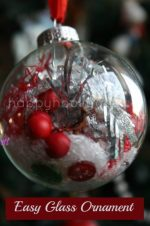 Clear Glass Ornaments for Kids to Fill and Decorate