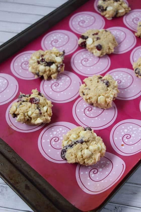 cookies on cookie sheet