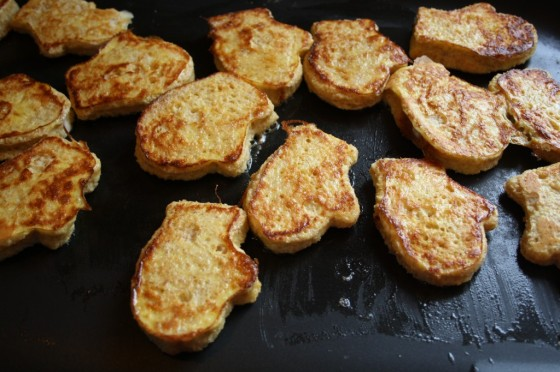 french toast mittens