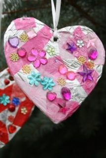 tin foil tissue hearts cover photo