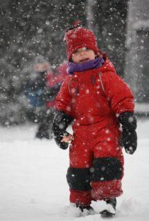 fun in the blizzard!