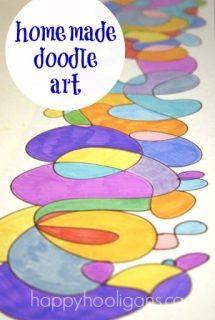 homemade doodle art