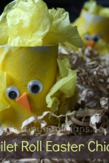Toilet Roll Easter Chicks – an Easy Easter Craft for Kids