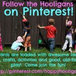follow the Hooligans on Pinterest!