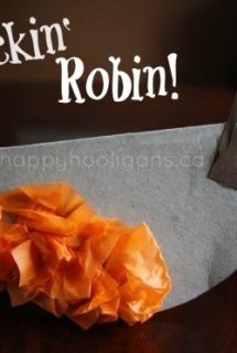 rockin' robin - cardboard bird craft