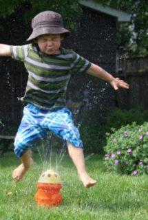 Sprinkler Fun for Toddlers