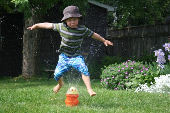 Sprinkler Fun for Toddlers