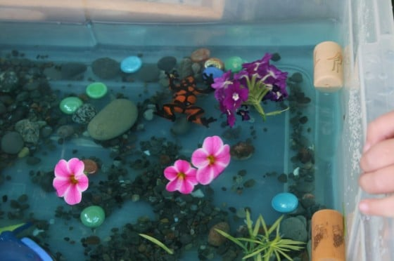 Ocean Sensory Bin for Toddlers