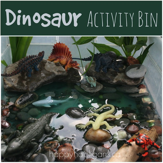 Dinosaur Activity Bin