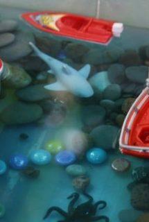 Deep Blue Sea Activity Bin