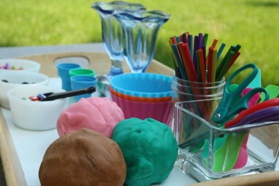 Play Dough Ice Cream Shop – Pretend Play Activity