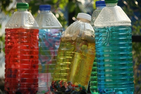 bottle babies - easy and inexpensive loose parts