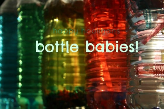 Bottle Babies – Loose Parts for Play