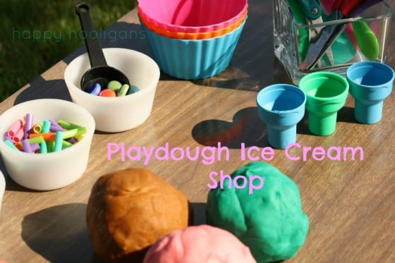 play dough ice cream shop cover photo
