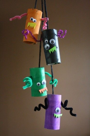 monster mobile hanging
