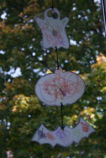 Halloween Sun Catcher for Toddlers and Preschoolers