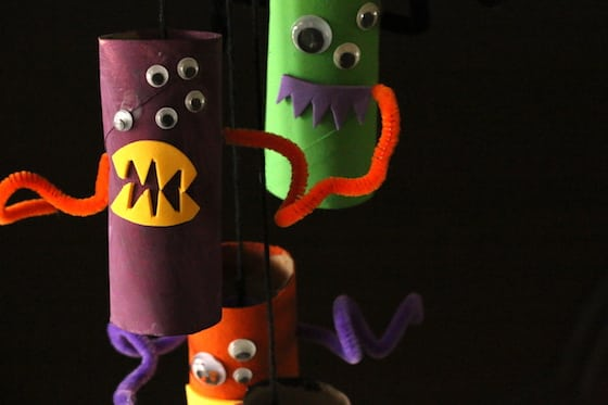 Toilet Roll Monsters Craft