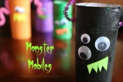 one monster mobile with 3 more in background