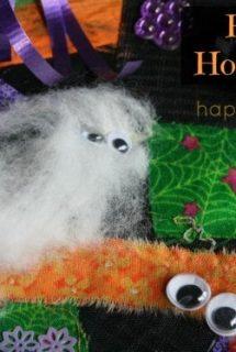 Haunted Hodge-Podge Halloween Art Collage