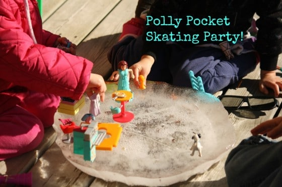 Polly Pocket skating party