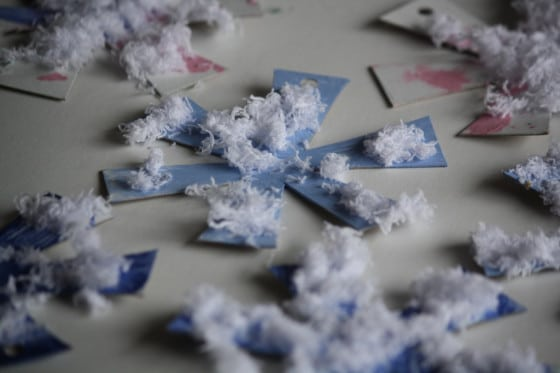 simple snowflake ornament