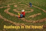 Roadways in the leaves!
