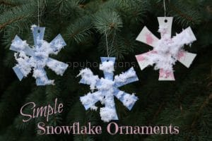 simple snowflake ornament - cover photo