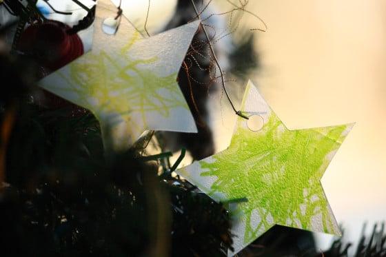toddler sun catcher christmas ornaments
