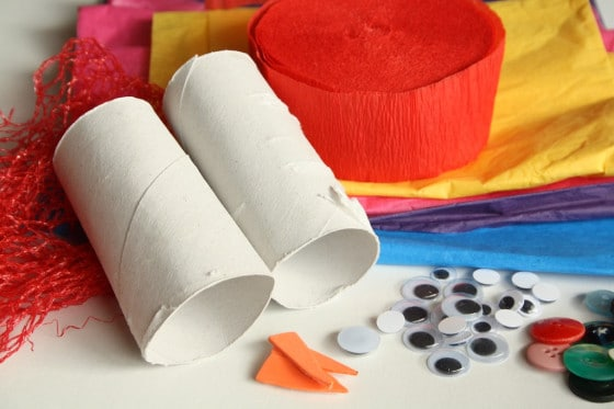 supplies for toilet roll tissue paper snowmen ornaments